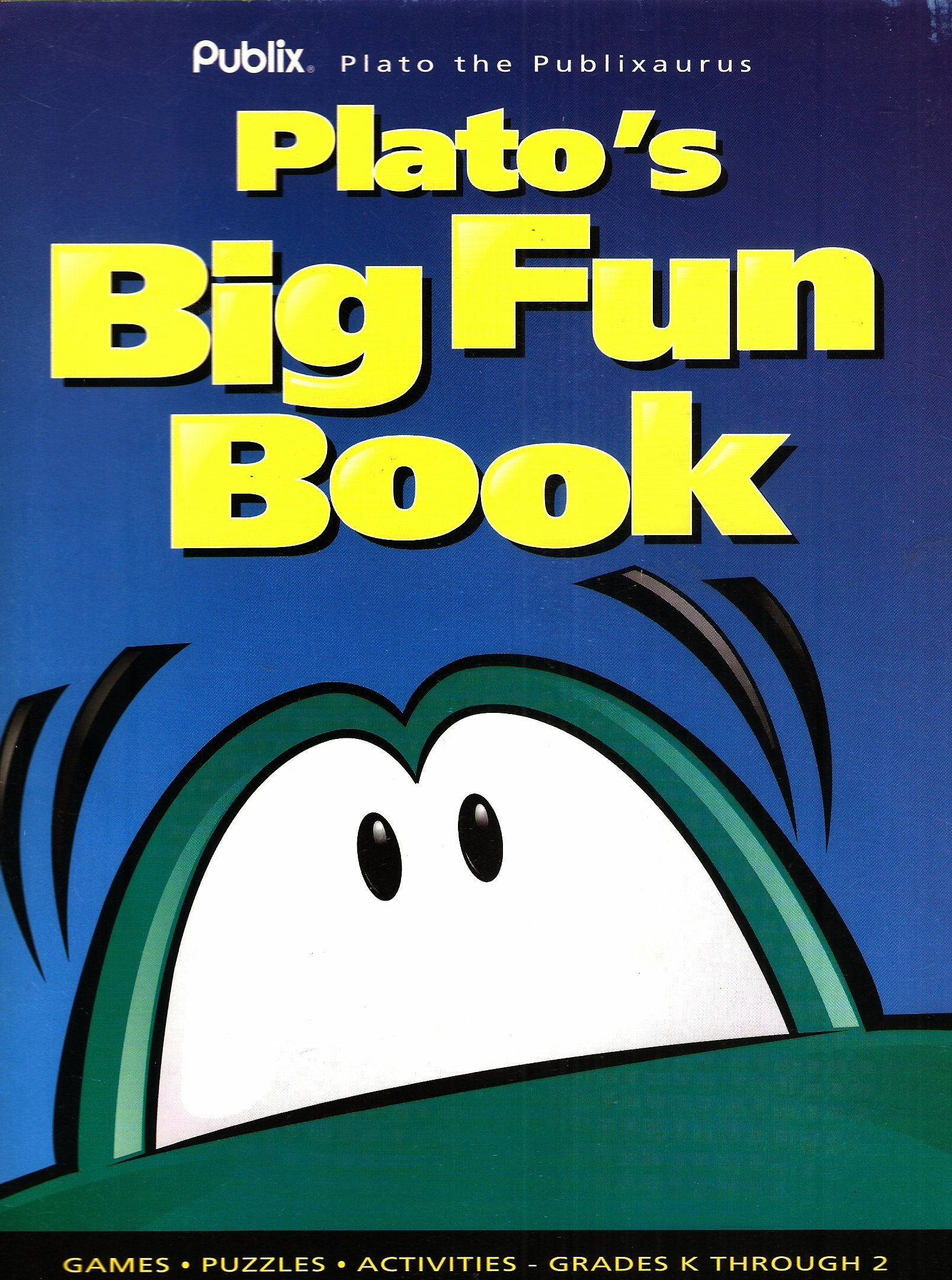 plato the plublixaurus plato u0027s big fun coloring u0026 activity book