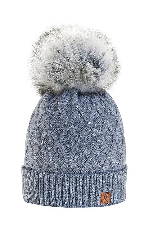 Morefaz - Gorro de invierno para mujer f6832efa252