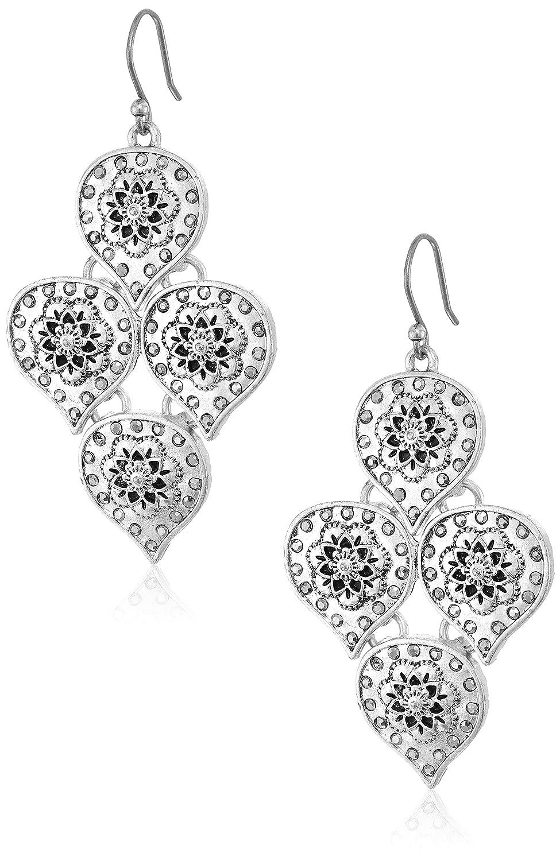 Lucky Brand Floral Motif Earrings