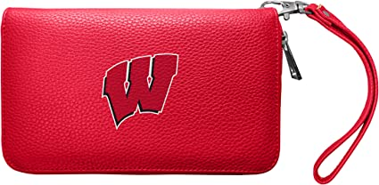 NCAA Michigan Wolverines Zip Organizer Pebble Wallet