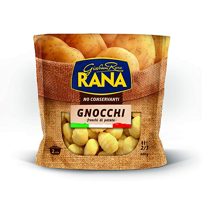 Pasta Fresca No Rellena Rana Bolsa 500 Grs.Gnocchi