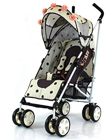 iSafe Buggy Stroller Pushchair - Full of Flowers