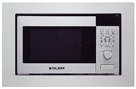 Glem gmi203ix integrado 20L 800 W Acero inoxidable horno de ...