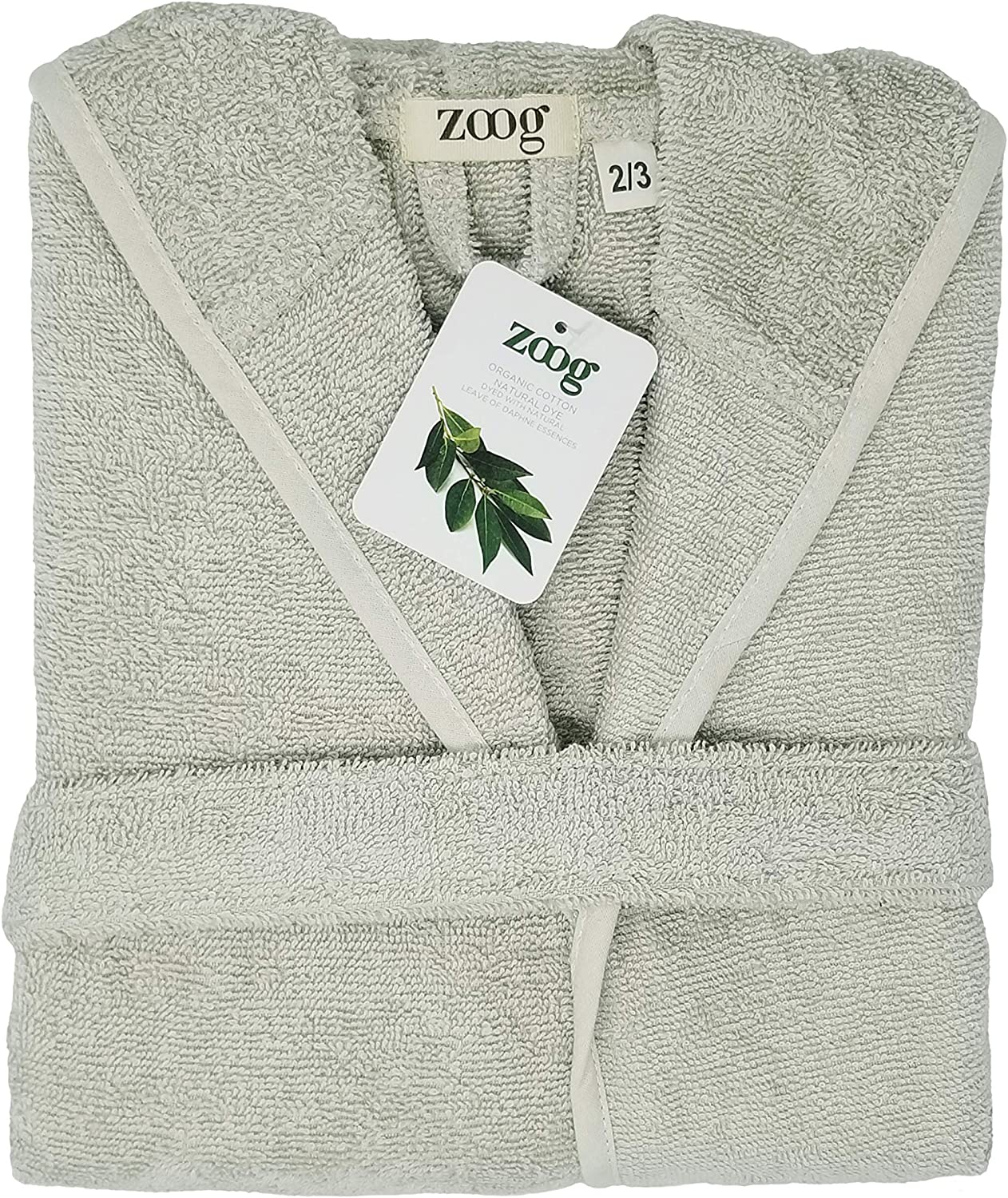 2-3 Years, Blue Zoog Premium Quality GOTS Certified 100/% Organic Cotton Natural Dye No Chemical Completely Vegan Natural Soft Comfortable Baby Hooded Blue Pink Green Yellow Toddler Bath Robe
