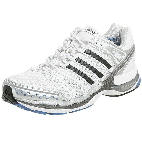 fondo de pantalla escalar Novedad  Buy adidas Men's adiStar Control 5 Running Shoe, White/Black/Iron, 12 M at  Amazon.in