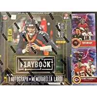 $119 » 2020 Panini Playbook Football Card MEGA Box (Factory Sealed) - 1 Exclusive Autograph or…