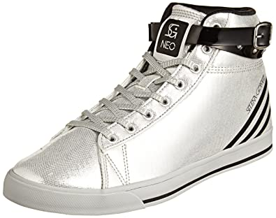 wide range fresh styles huge discount adidas Neo Daily Wrap Selena Gomez Silver Womens Trainers ...
