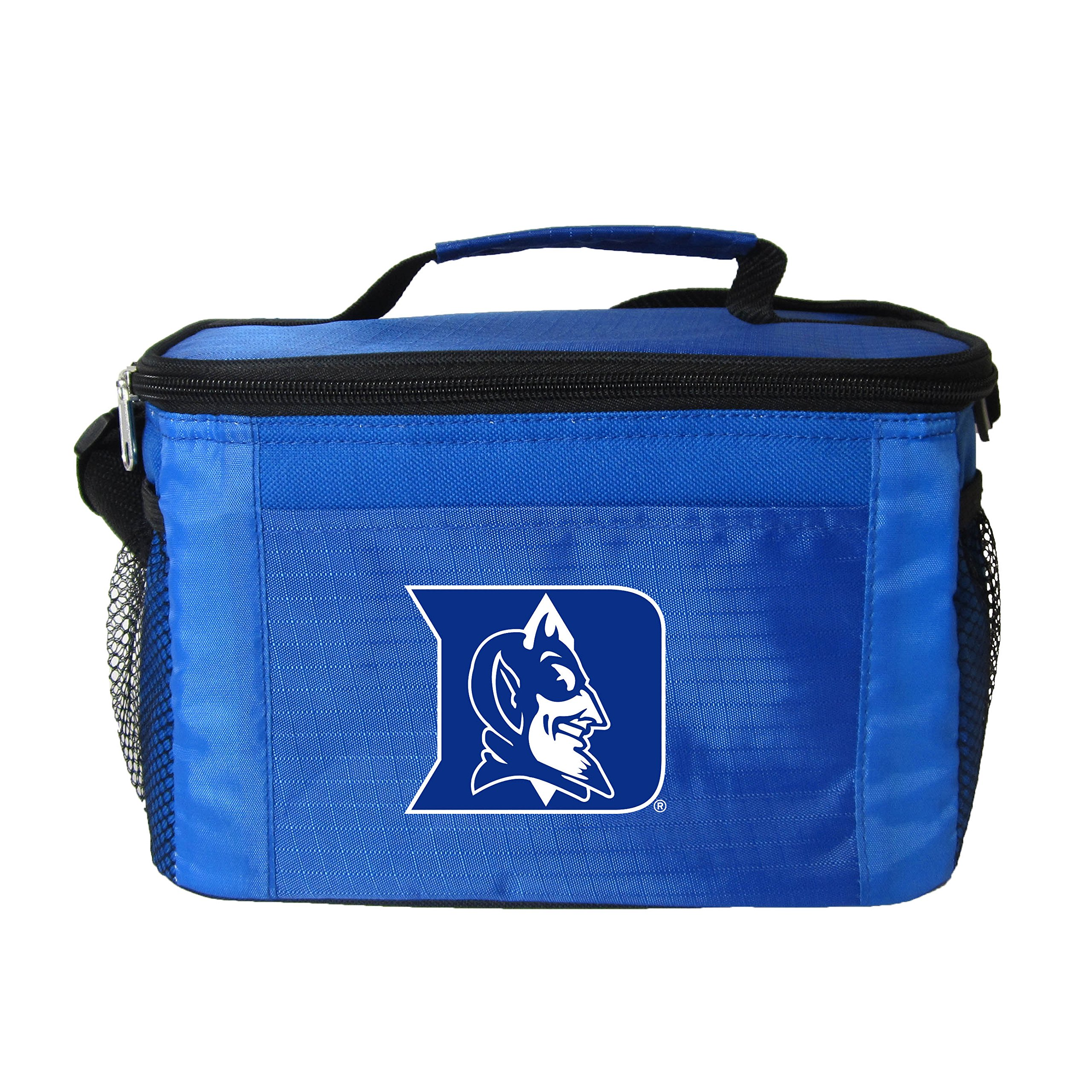 NCAA Duke Devils Team Logo 6 Can Cooler Bag or Lunch Box - Blue