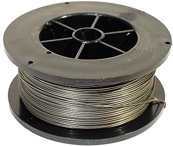 Proweltek-Ine PR1035 - Bobina de hilo de acero inoxidable para soldadura, MIG-MAG, diámetro 0,8 mm, 400 g