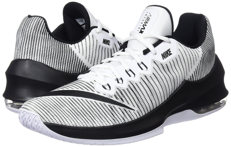 Nike Herren Air Max Infuriate 2 Mid Rot Basketballschuhe 40 45