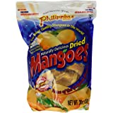 Philippine Brand Naturally Delicious Dried Mangoes Tree Ripened 30 Ounces - Pack of 2 by Philippine