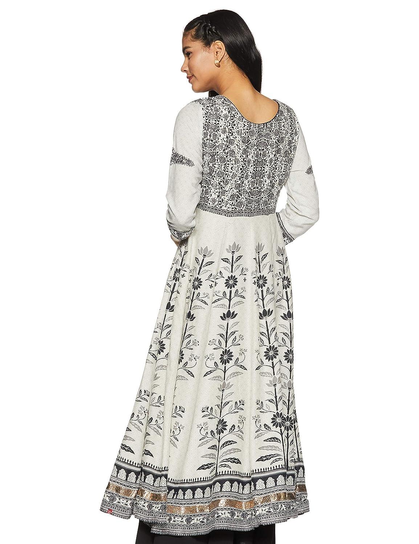 f6bfbb1ece BIBA Women's Anarkali Salwar Suit Set: Amazon.in: Clothing & Accessories