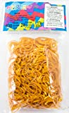 Rainbow Loom Gold Rubber Bands with 24 C-Clips (600 Count)