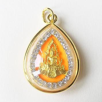 Amazon amulets necklace jewish phra buddha chinnaraj thai amulets necklace jewish phra buddha chinnaraj thai famous buddhist pendant lucky rich happy love thai aloadofball Image collections
