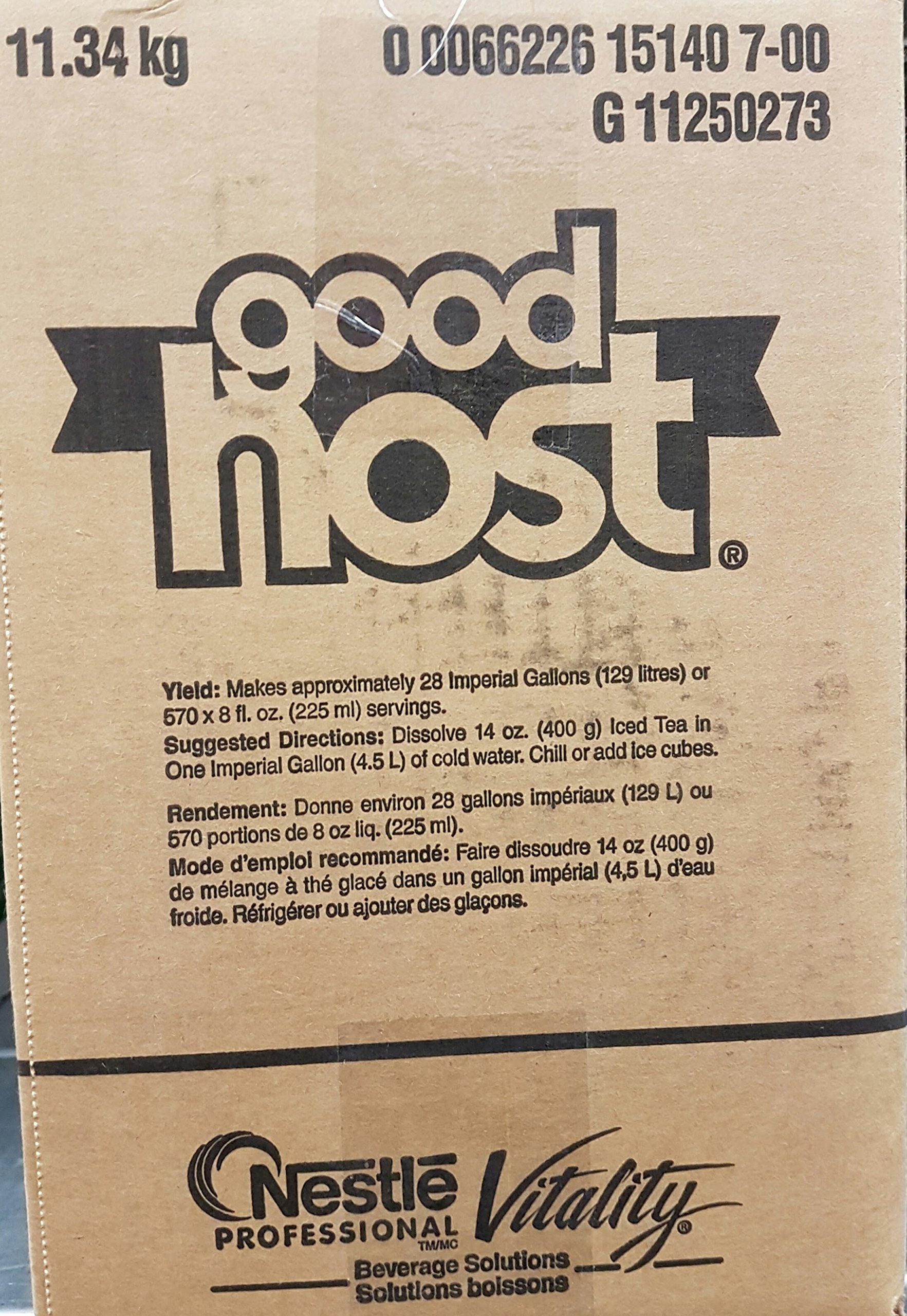 Good Host Ice Tea Mix Huge Bulk Box 11.34kg/25 Pounds {Imported from Canada} by Good Host (Image #2)