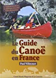 Le guide du canoé en France