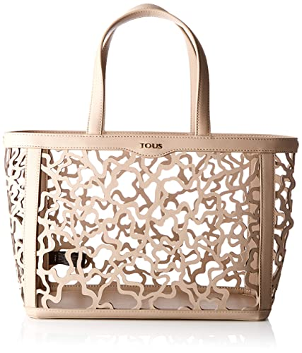 30dcae6f90 Tous Women's K Shock Tote Bag, Beige (Topo 795900313), 32x25x15 centimeters  (