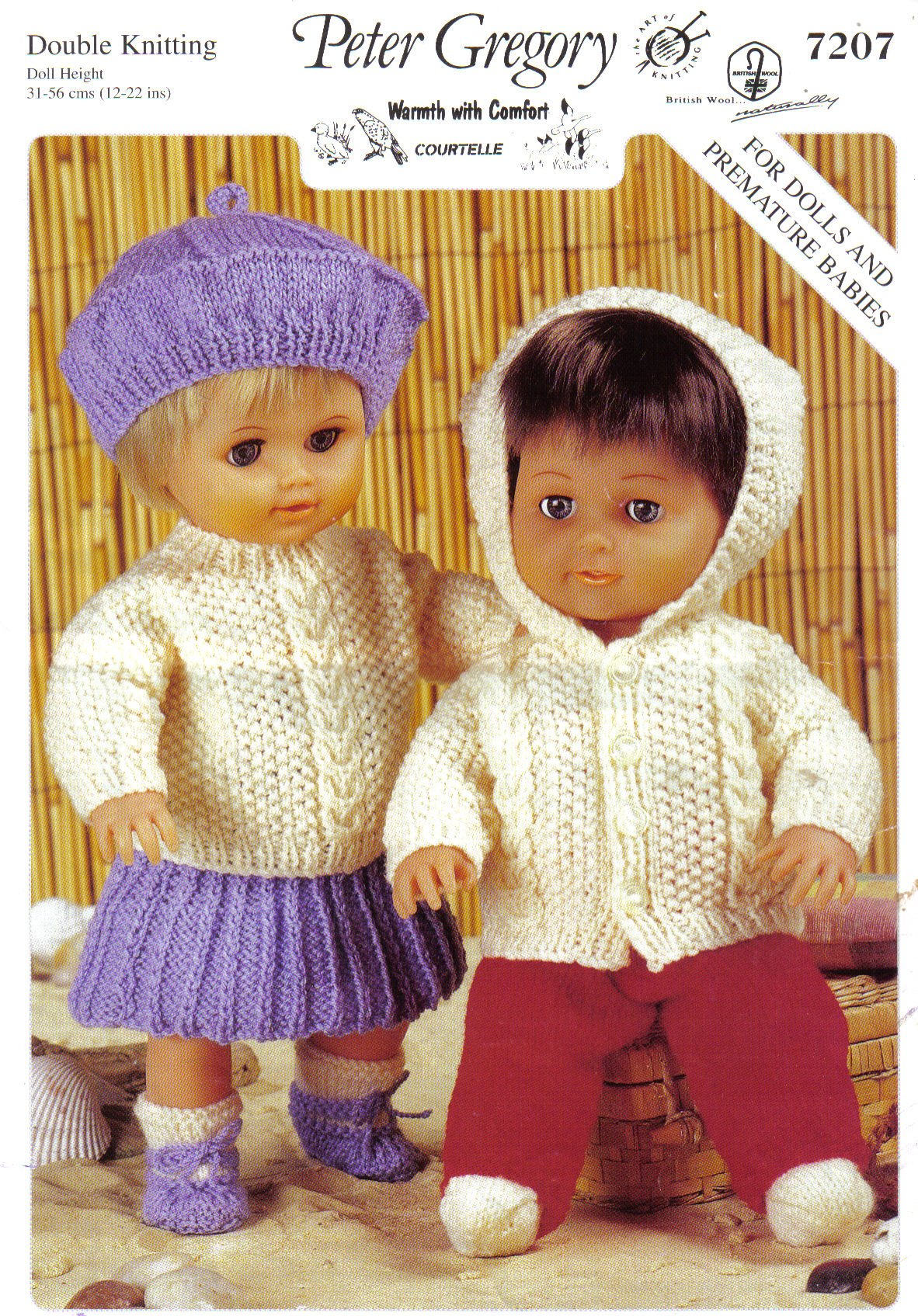 Jarol Dolls Clothes Knitting Pattern: For Dolls and Premature Babies ...