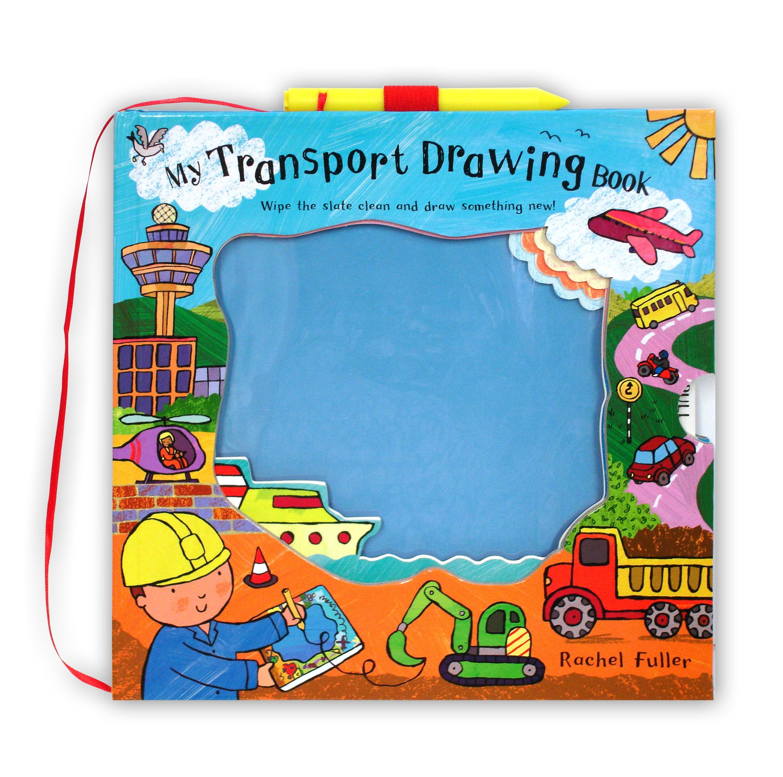 Mini Magic Drawing Books My Transport Drawing Book Rachel Fuller