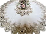 """Galleria di Giovanni 34"""" X-Large Lace Doily Table"""