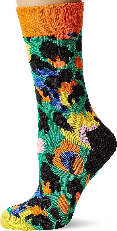 Donna Happy Socks Leopard Sock Calze