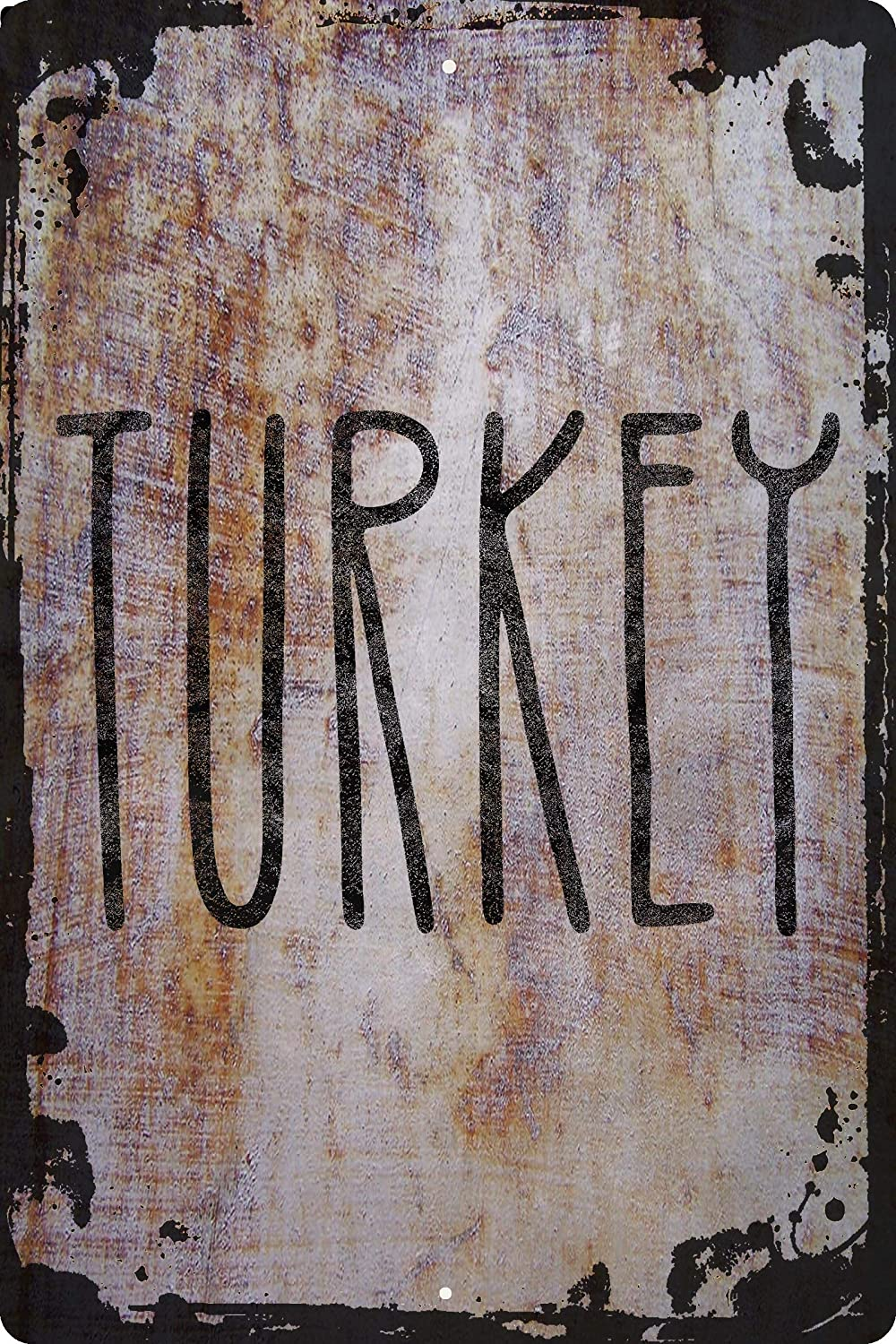 Turkey tall caps Thanksgiving food holiday tradition yummy Decorative Wall Decor Funny Gift