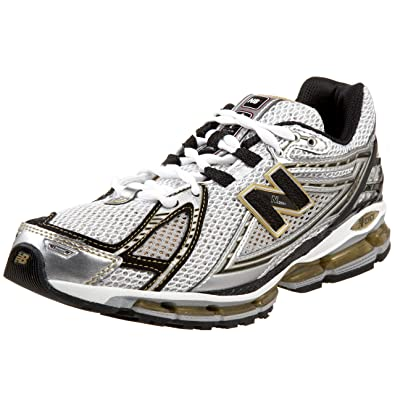 New Balance Men\u0027s MR1906 NBX Running Shoe,White/Black/Gold,13 D