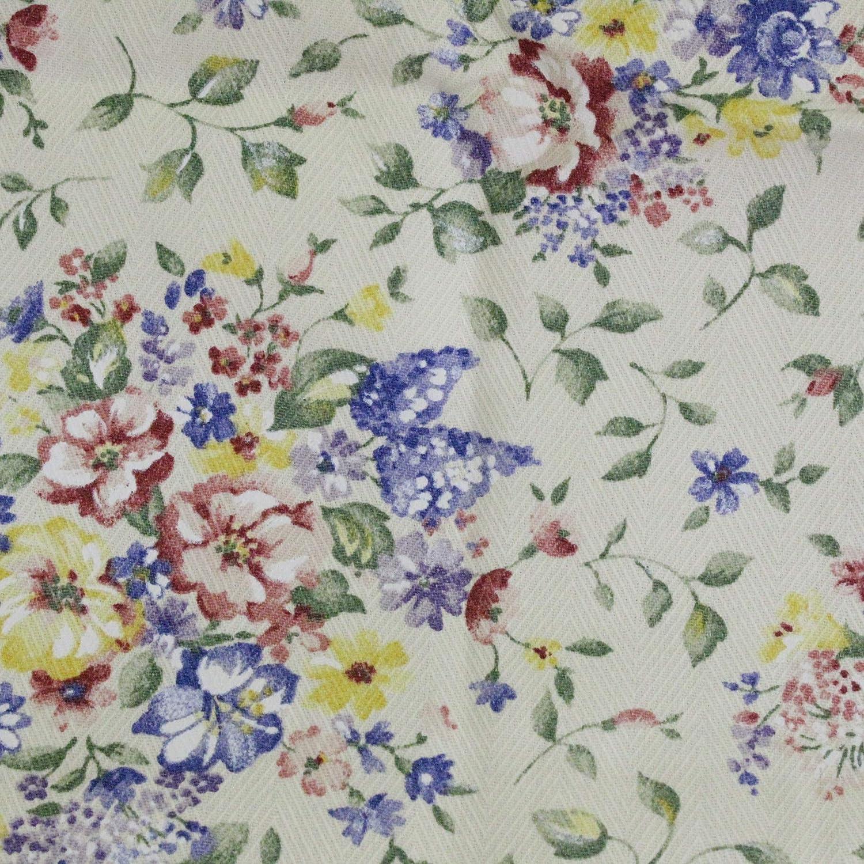 Longaberger Basket Liner for Medium Wall Pocket (Spring Floral)
