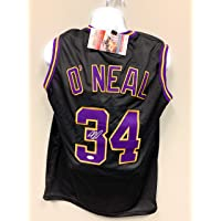 $125 » Shaquille O'Neal Los Angeles Lakers Signed Autograph Custom Jersey Black JSA Witnessed Certified