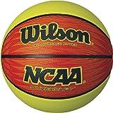 Wilson NCAA Hyper Shot Orange/Lime Basketball, Official Size