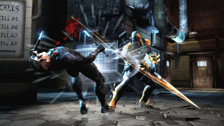 Injustice gods among us xbox 360 amazon pc video games voltagebd Choice Image