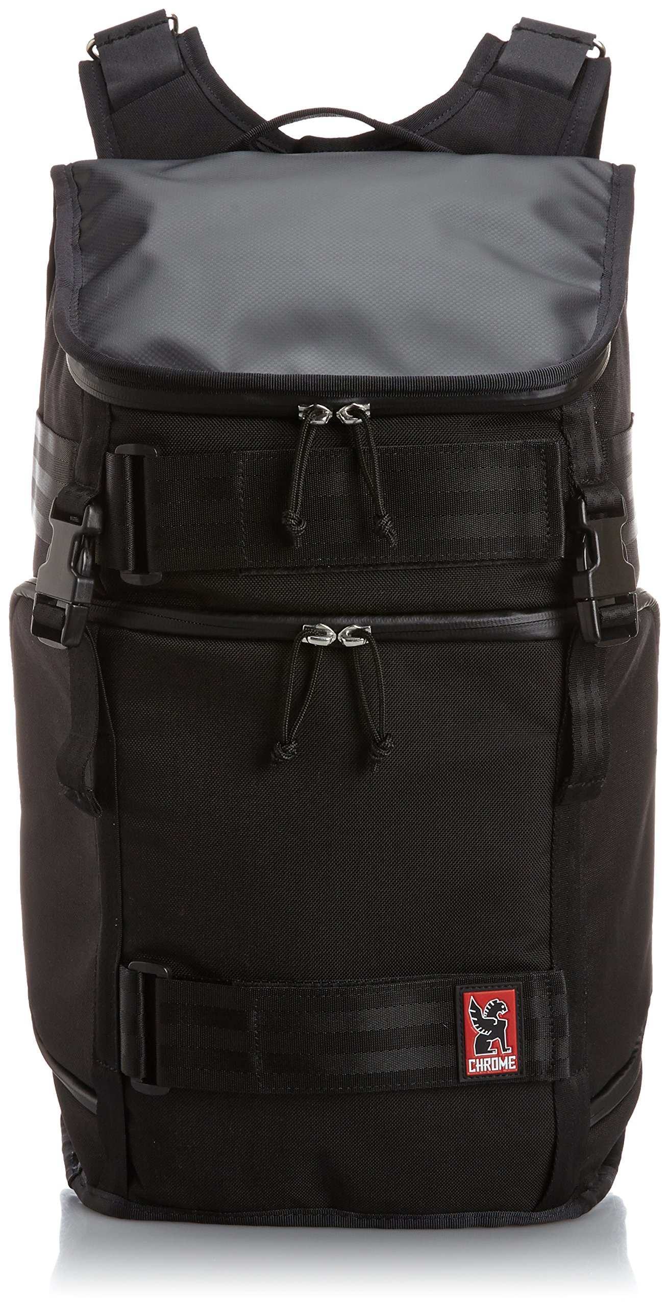 Chrome BG-153-BK Black 26L Niko Pack Backpack by Chrome