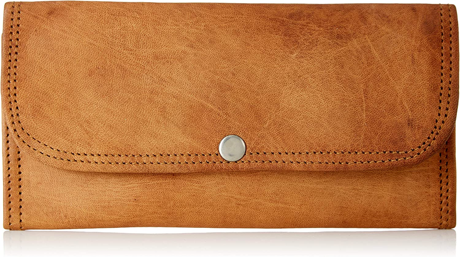 Pure Leather Wallet For Women Brown By Wild Hazel