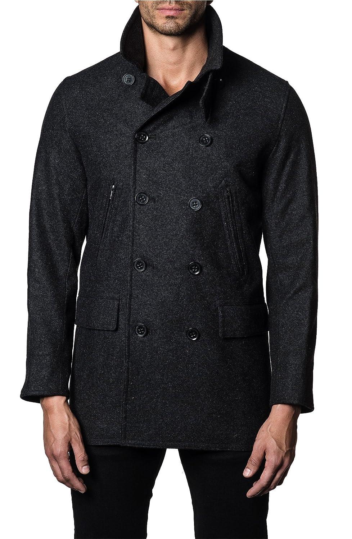 [ヤレドラング] メンズ ジャケットブルゾン Jared Lang Double-Breasted Coat [並行輸入品] B07DJ7JSS6 X-Large