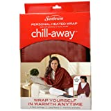 Amazon Price History for:Sunbeam Chill-Away Heated Fleece Wrap, Garnet