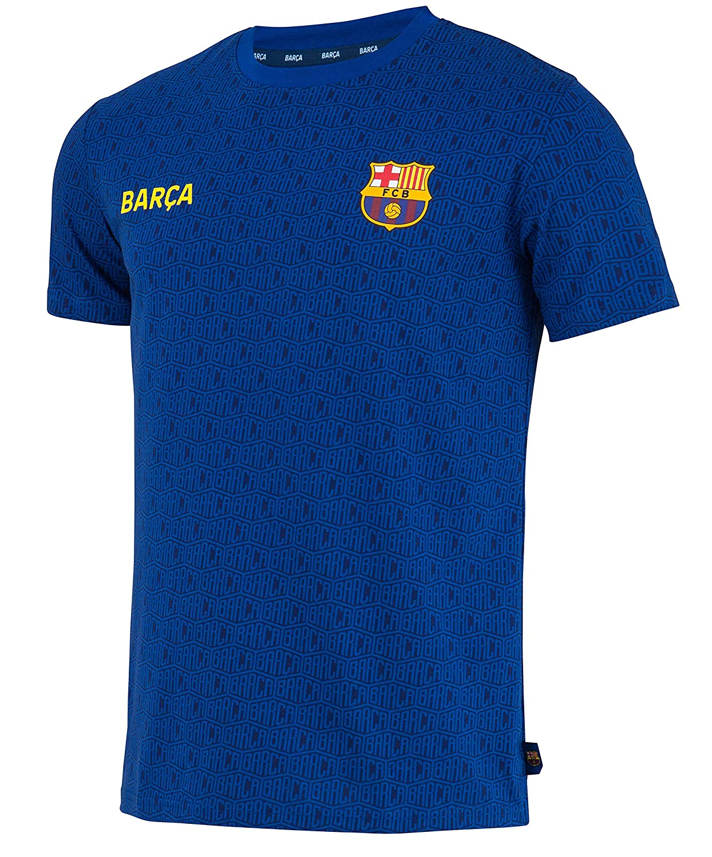 Fc Barcelone Camiseta de algodón Barca - Colección Oficial Talla ...