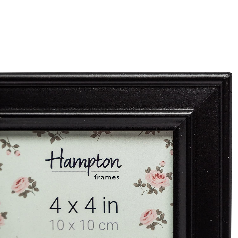 Hampton Frames Paloma quadratisch, Bilderrahmen, Holz,, schwarz, 14 ...