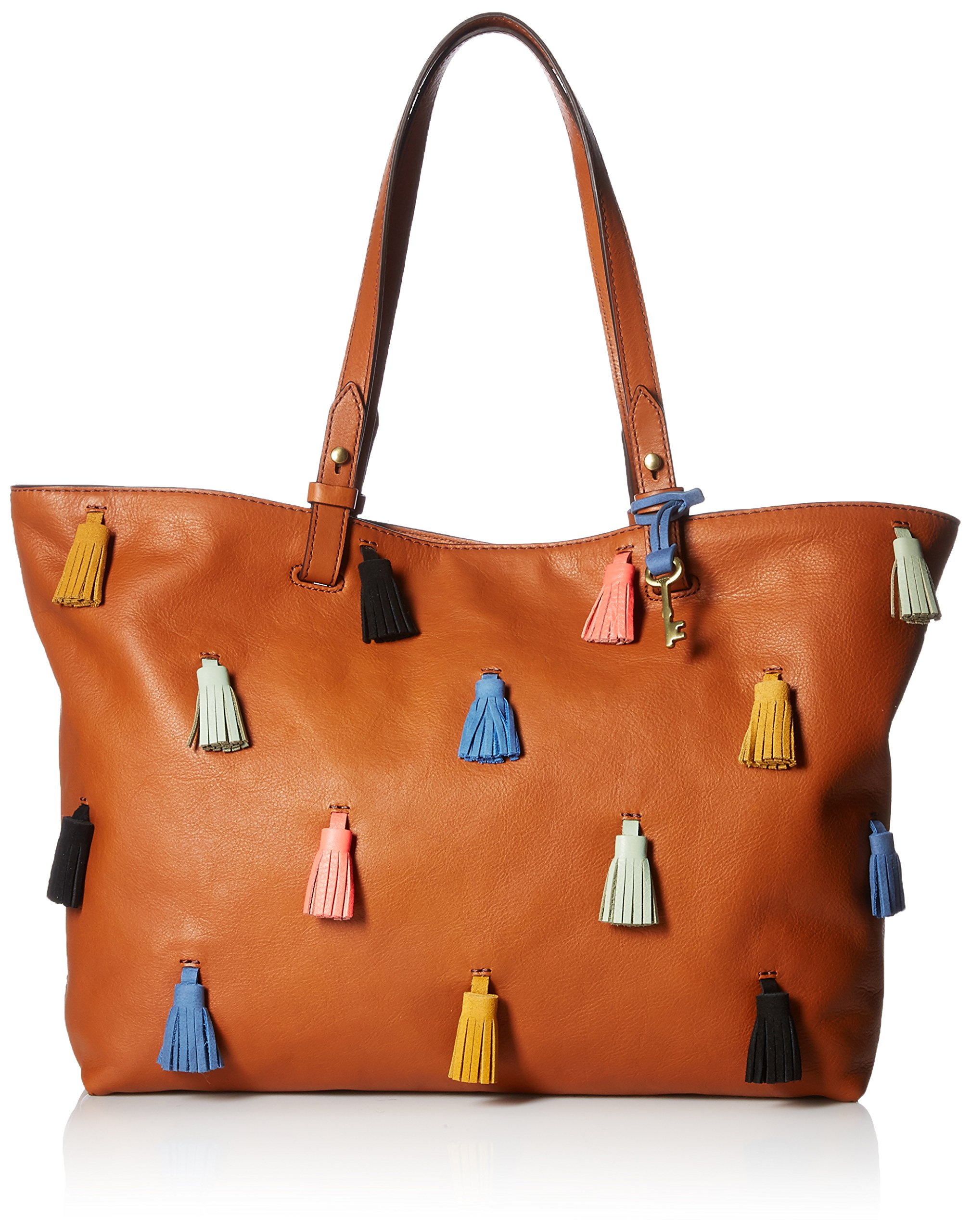Fossil Rachel Tote, Brown/Multi, One Size