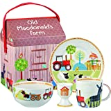 Little Rhymes Old Macdonald Breakfast Set, Multi-Colour, 4-Piece