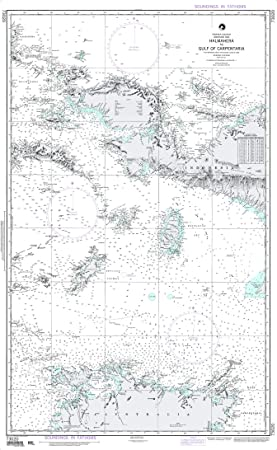 NGA Chart 73020 Halmahera to Gulf of Carpentaria 45 5
