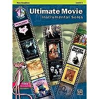 Ultimate Movie Instrumental Solos: Tenor Sax, Book &