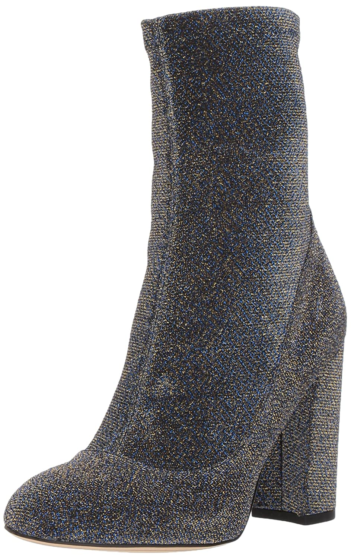 Sam Edelman Women's Calexa Fashion Boot B071R53JTM 6 B(M) US|Blue/Gold Glitter Fabric