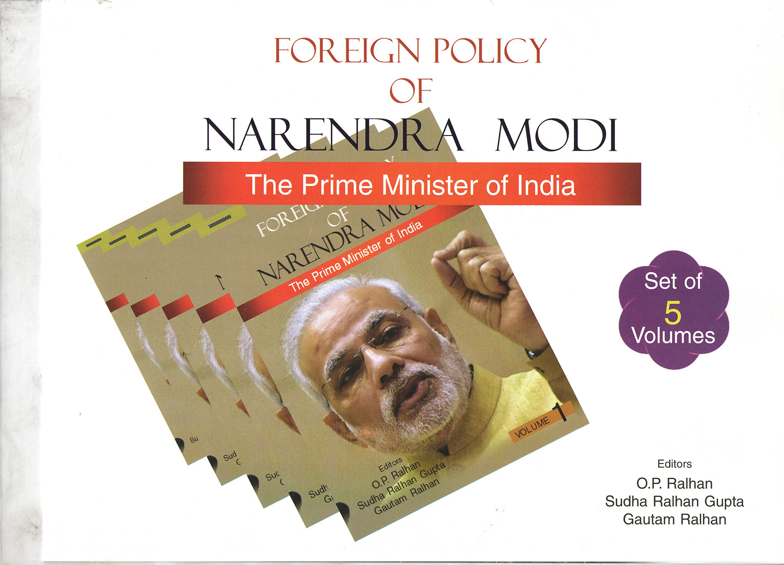 Foreign Policy of Narendra Modi - The Prime Minister of India (5 Volumes) pdf
