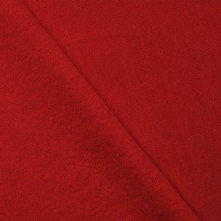 Tela de algodón elástica - 95% algodón 5% elastano - 9 colores - Por metro (rojo): Amazon.es: Hogar