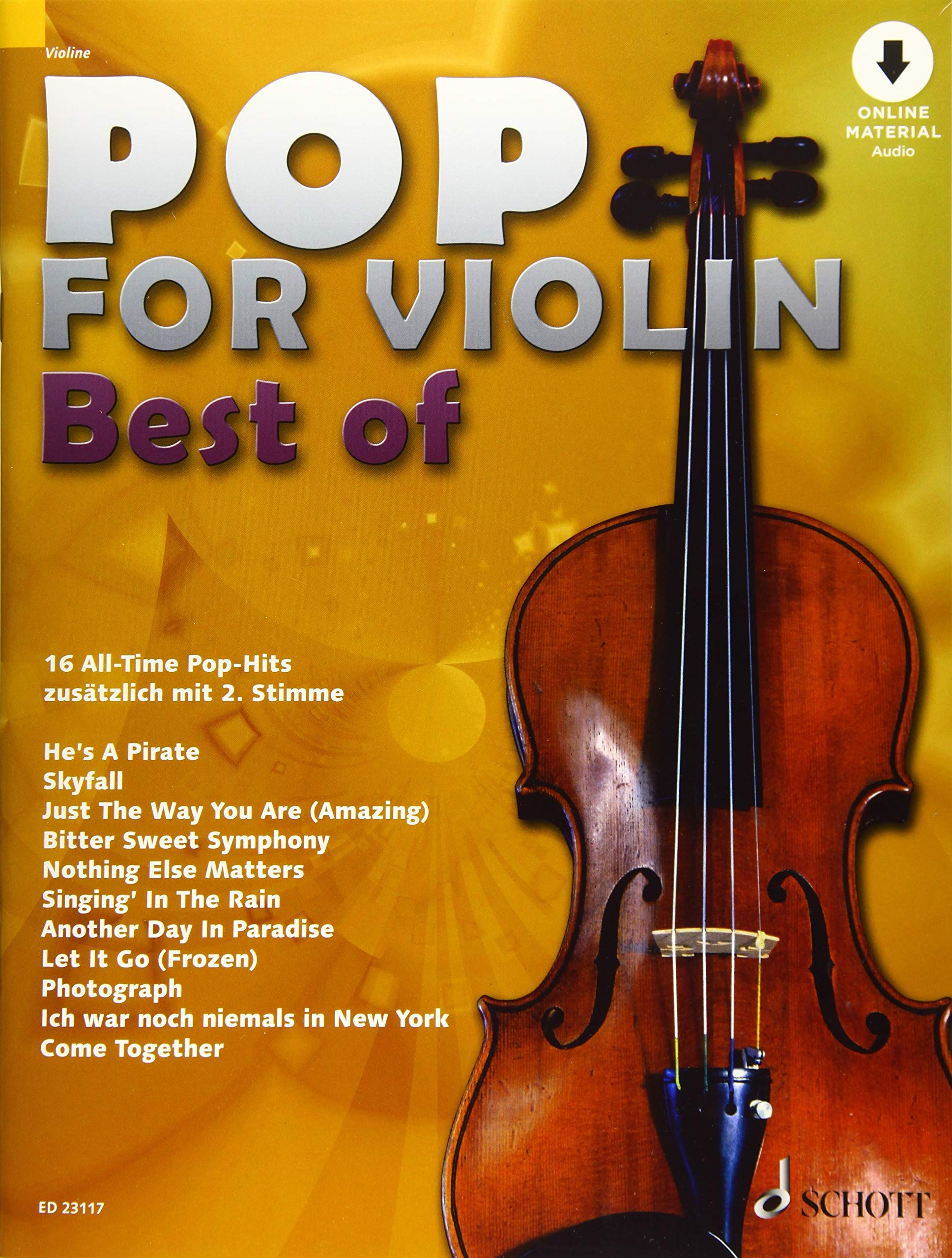 Pop for Violin - Best of: 16 All-Time Pop-Hits. 1-2 Violinen ...