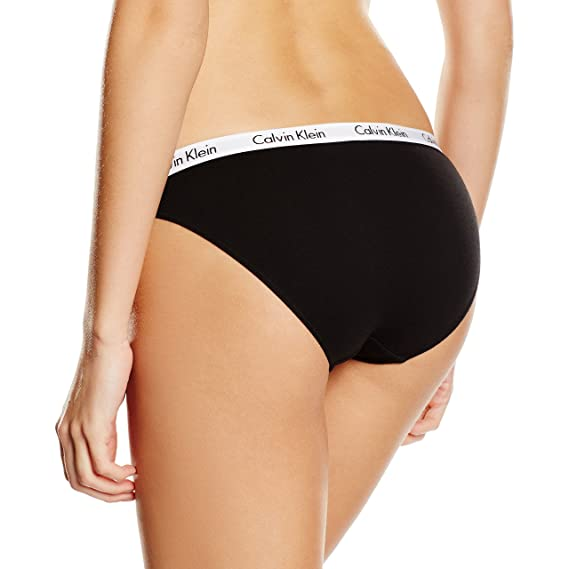 Calvin Klein Carousel-Bikini Sujetador, Negro (BLACK 001), X-Small ...