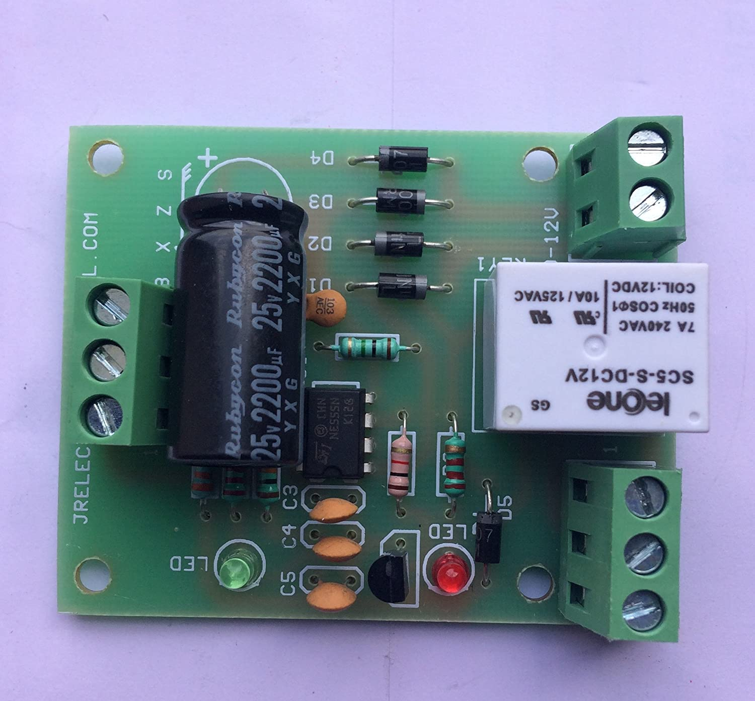Buy Jr Electrokits Fully Automatic Water Level Controller Tank Circuit Board Electronicspcb Parts And Functions Works On 12vdc Online At Low Prices In India