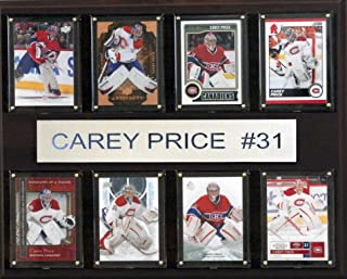 product image for NHL Montreal Canadiens Carey Price 8-Card Plaque, 12 x 15-Inch