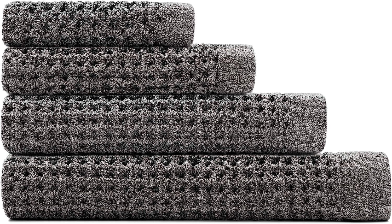 Onsen Complete Set - 100% Supima Cotton, Lightweight, Cinder Grey