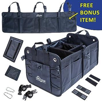 Amazon.com: ONYXZER Organizador de maletero para coche y SUV ...